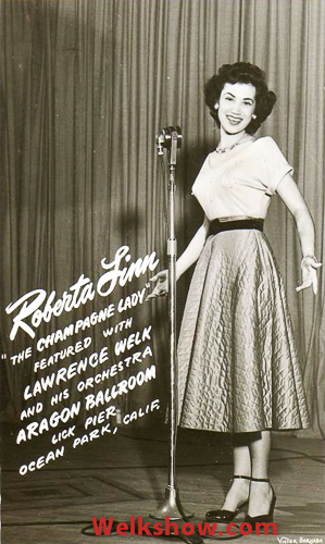 560559eab17 Roberta Linn-Champagne Lady of the Lawrence Welk Show